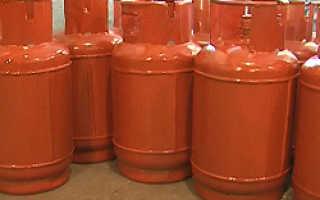 Какой газ в баллонах сжиженный или природный
