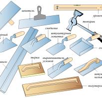 Штукатурный инструмент для выравнивания стен и нанесения на поверхность