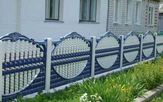 Бетонный забор своими руками: производство, монтаж и декорирование