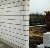 Кладка из силикатных блоков. Советы по строительству силикатных стен
