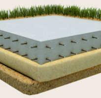 Монолитный плитный фундамент на разных типах грунтов