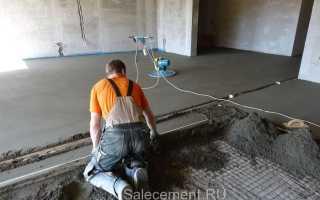 Рассчитываем цемент для стяжки пола самостоятельно