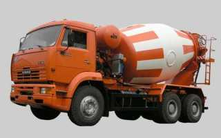 Способы транспортировки бетона. Характеристики автобетоносмесителей
