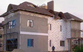 Утепление фасада: преимущества внешней теплоизоляции