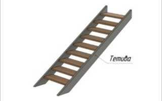 Изготовление лестницы на тетивах своими руками