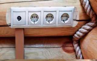 Как сделать электропроводку в деревянном доме своими руками