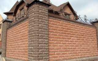 Как сделать кирпичный забор: пошаговая инструкция