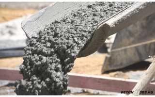 Можно ли делать бетон из известнякового щебня