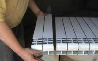 Сколько секций радиаторов нужно на 1 квадратный метр отапливаемой площади