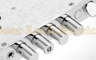 Механизмы дополнительного запирания: тяги, ригеля и девиаторы
