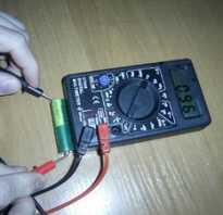 Как проверить емкость аккумуляторной батареи мультиметром и не только