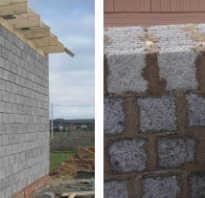 Как своими руками выложить стену из керамзитобетонных блоков?