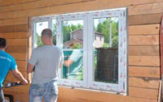 Саморезы для пластиковых окон в деревянном доме